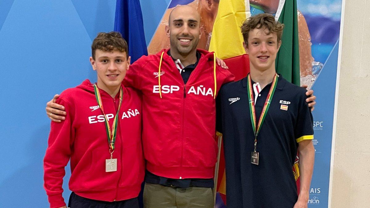 Diego de la Fuente y Mario Arias seleccionados con España para el campeonato de Europa de Aguas Abiertas