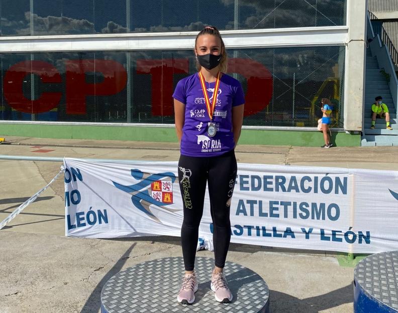 Bárbara Prieto, subcampeona de Castilla y León Sub 20