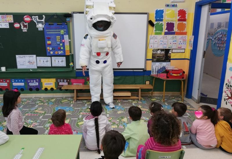 El CEIP Ntra. Sra. del Villar acerca conocimientos sobre el Espacio a los tres niveles de Infantil