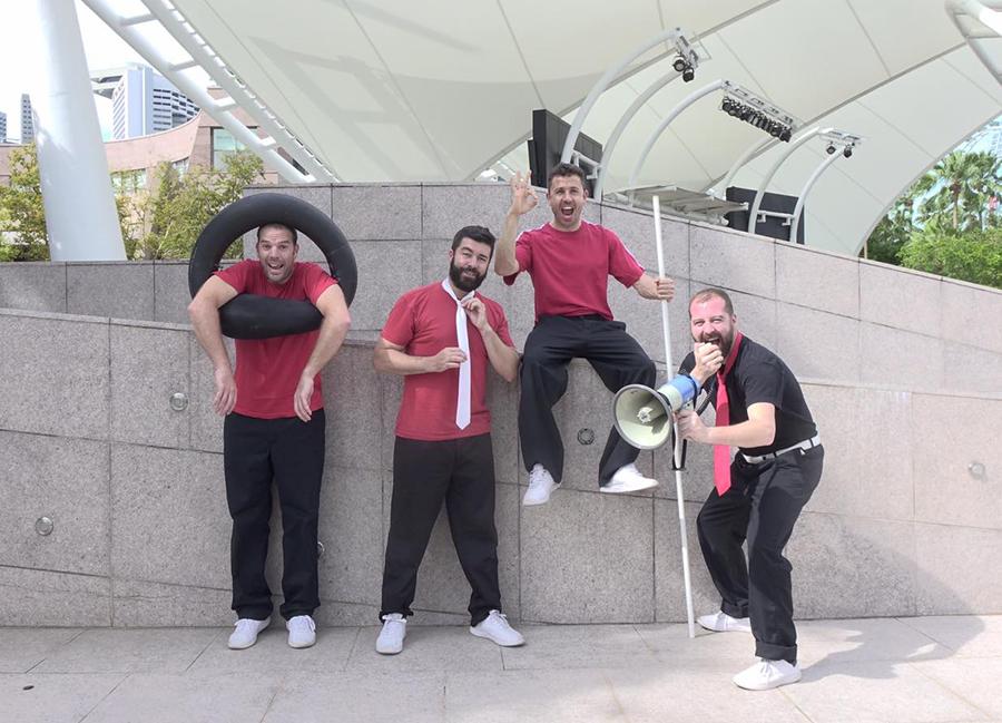 Arranca la programación cultural de verano con la actuación de Teatro Spasmo y la A.C. Banda de Música de Laguna
