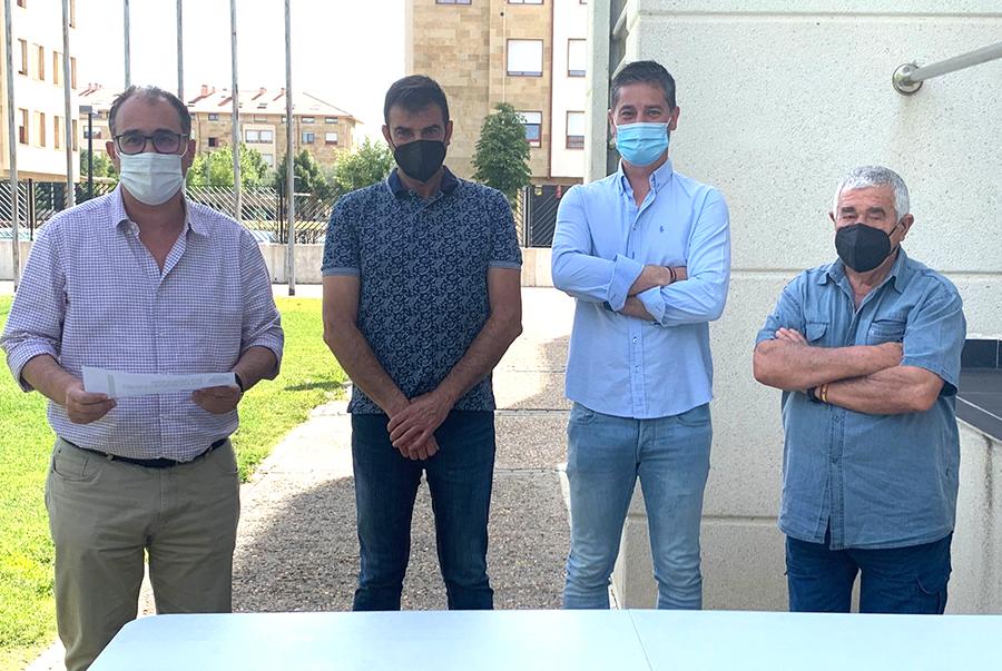 El Real Valladolid Promesas y el C.D. Villa de Simancas, rivales de los equipos laguneros en el Trofeo Diputación