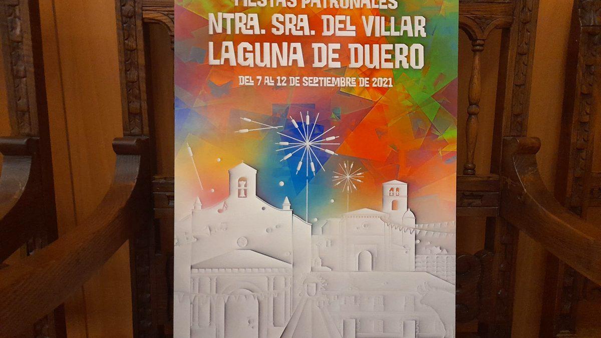 Rubén Lucas García, ganador del XL Concurso de Cartel de Fiestas Patronales 2021