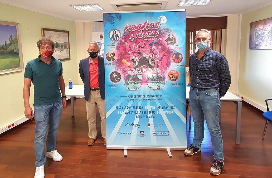 Dúo Dinámico, India Martínez, Sidecars y Rulo y la Contrabanda, principales apuestas musicales para las fiestas