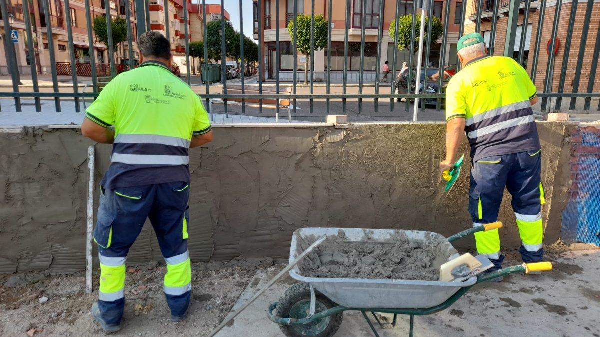 El Ayuntamiento pone a punto el CEIP Los Valles