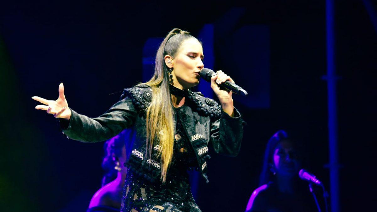 India Martínez contagia el ritmo y la esencia flamenca al público lagunero