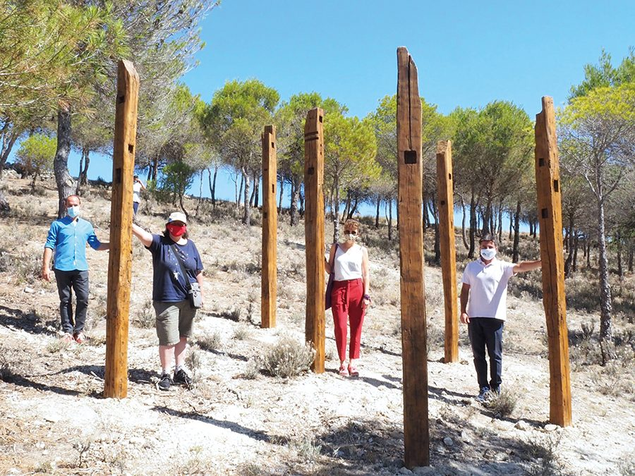 Dos proyectos escultóricos de Jesús Hilera, seleccionados para su instalación en 'El Bosque Comunero'