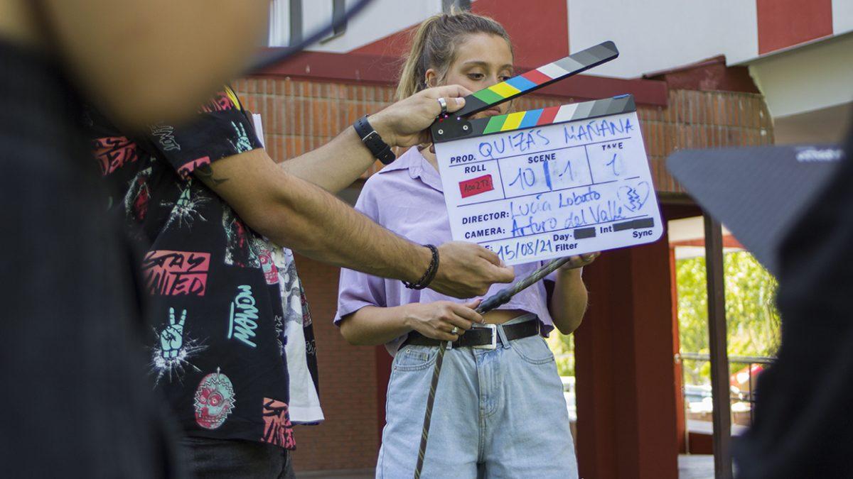 Laguna de Duero, escenario del rodaje del cortometraje 'Quizás mañana'