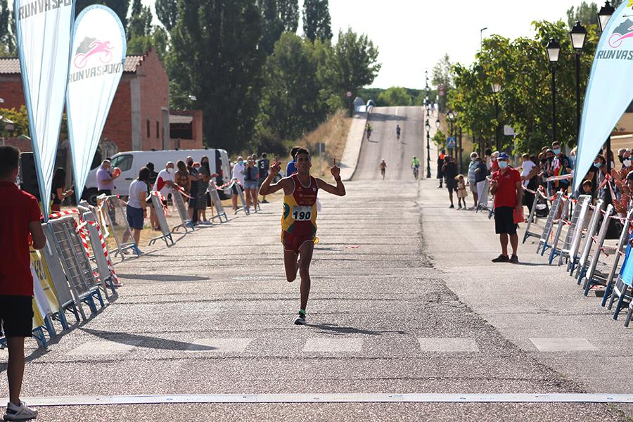 Rubén Sánchez y Alicia Diago repiten victoria en la Carrera Pedestre Popular