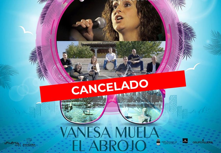 Cancelado el concierto de Vanesa Muela y Abrojo Folk