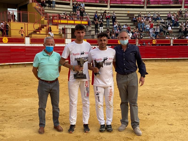 Eusebio Sacristán e Iván Gonzalez ganadores del Concurso de Cortes 2021
