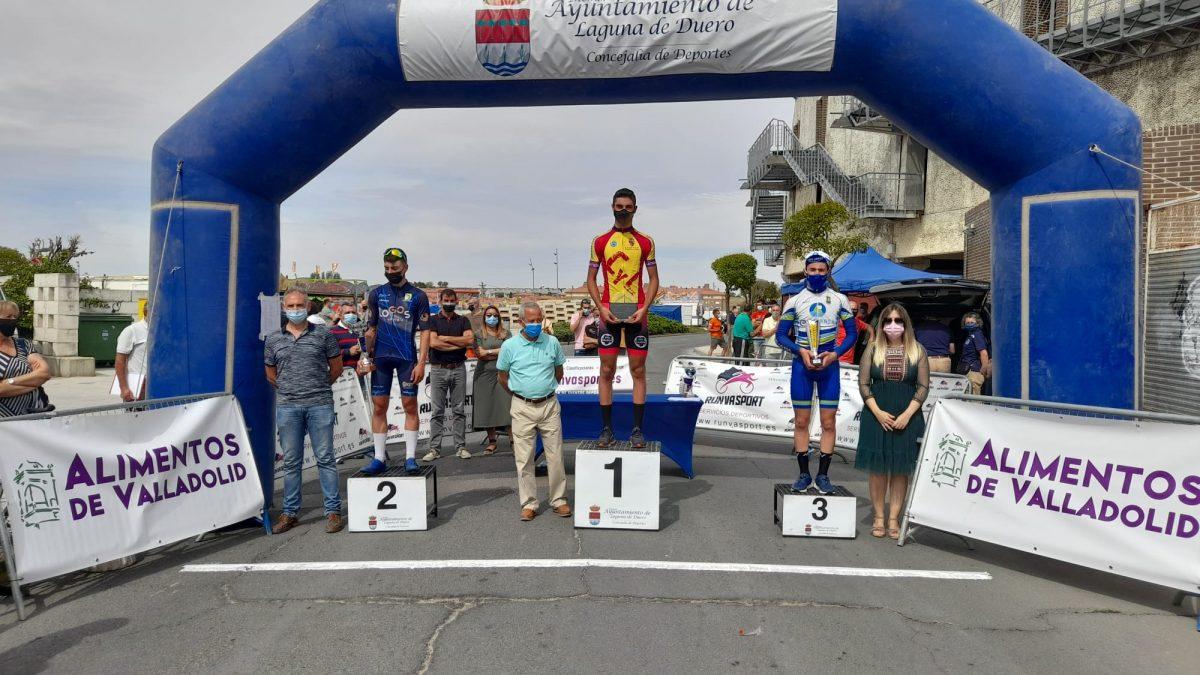 """Exhibición del arandino Alvar Martín en el """"I Gran Premio Ciclista Laguna de Duero"""""""