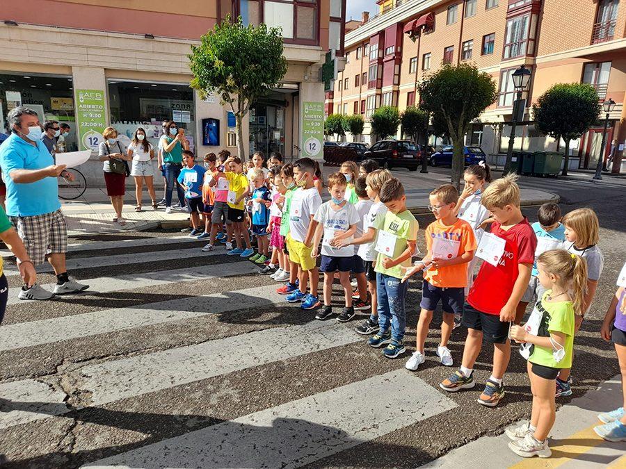 La Maratón Infantil Local 'Subida a la Ermita' congrega a cerca de un centenar de participantes