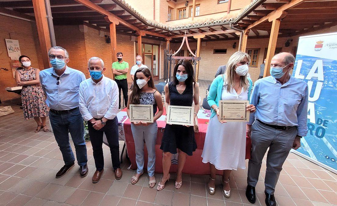 Leonor López Almeida y Lucía Alija Rivas reciben su premio Cascajo a la Excelencia