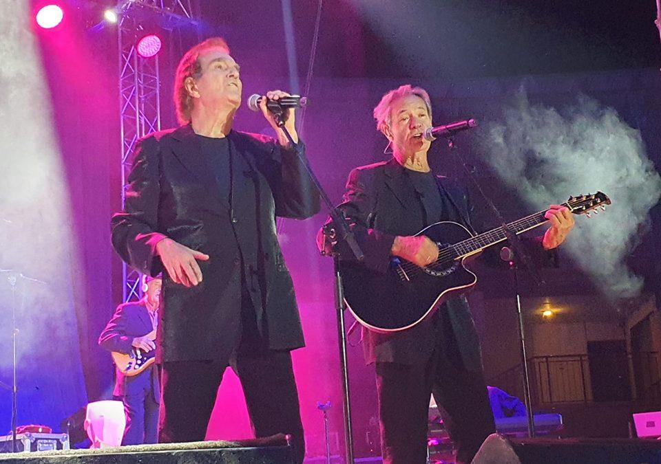 Dúo Dinámico revive un repertorio lleno de recuerdos en Laguna