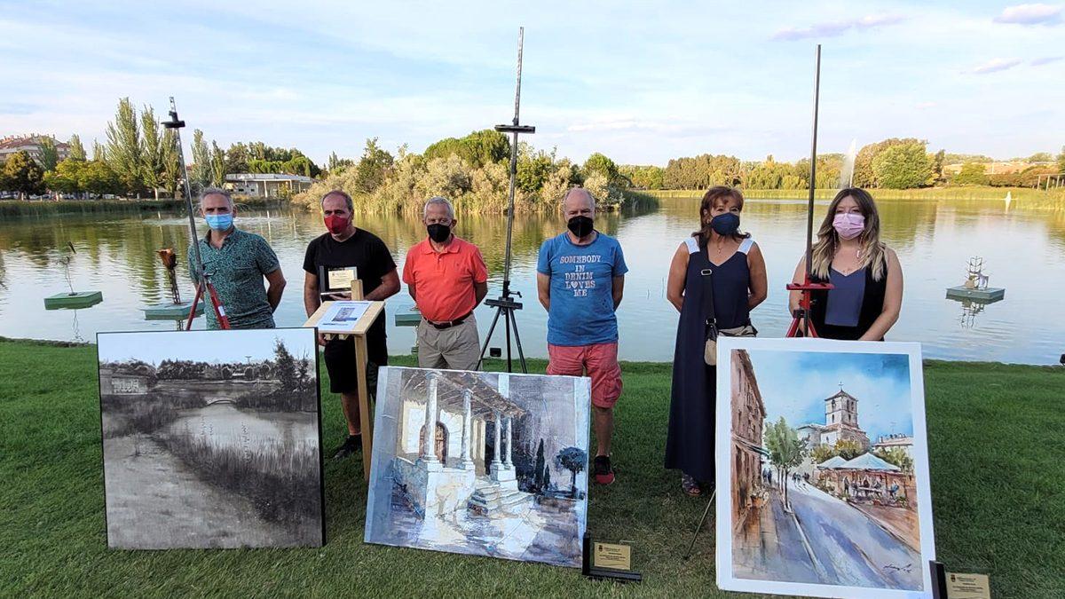 Rafael Carrascal, ganador del XLI Certamen de Pintura Rápida