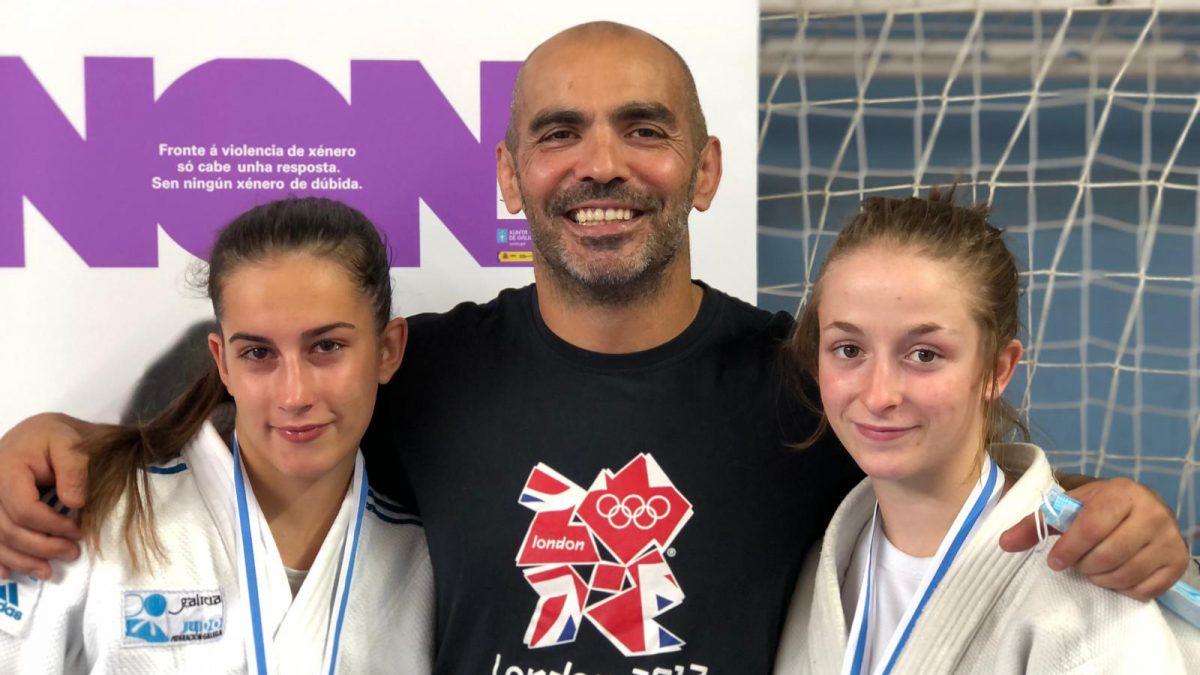 Inés Villahoz y Marta Gaitero se clasifican para el campeonato de España cadete