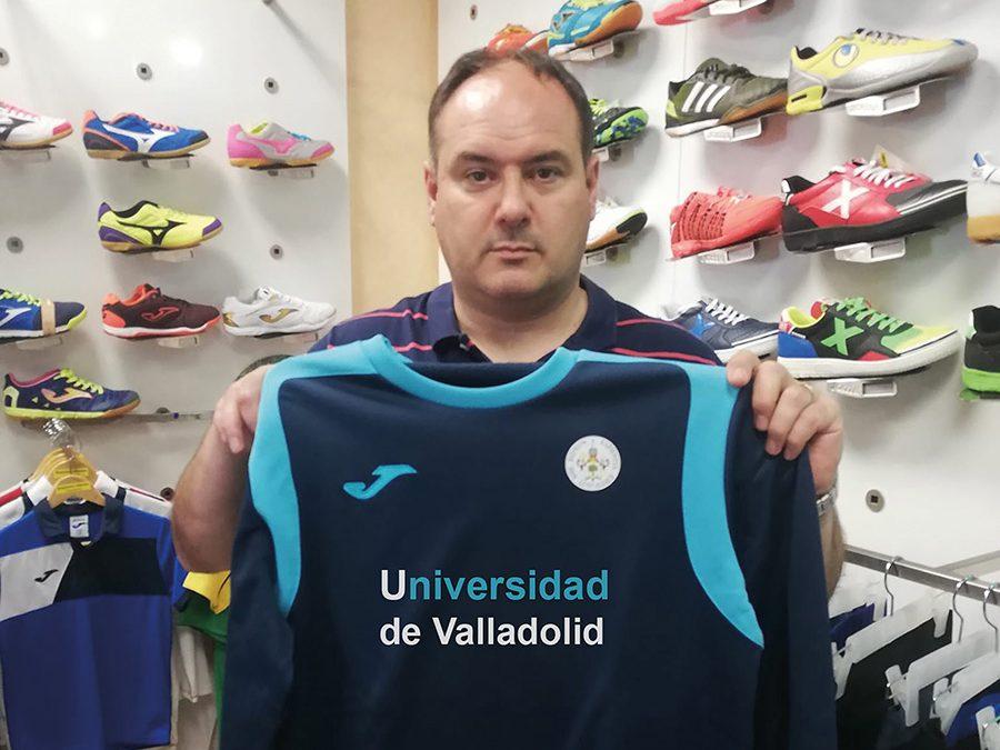 José Luis Plaza cumple uno de sus sueños deportivos al entrenar a la UVA en Segunda B