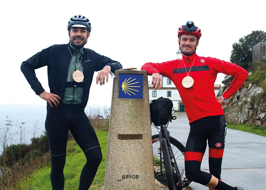 César Mato y Óscar Pujol ganan la prueba internacional de ultra ciclismo 'Kilómetro Cero'